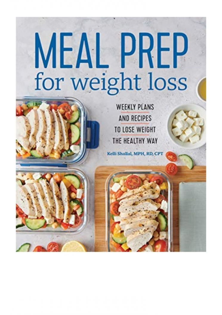 11) Meal Prep for Weight Loss (PDF) Weekly Plans and Recipes to L… - Recipes For Weight Loss Pdf