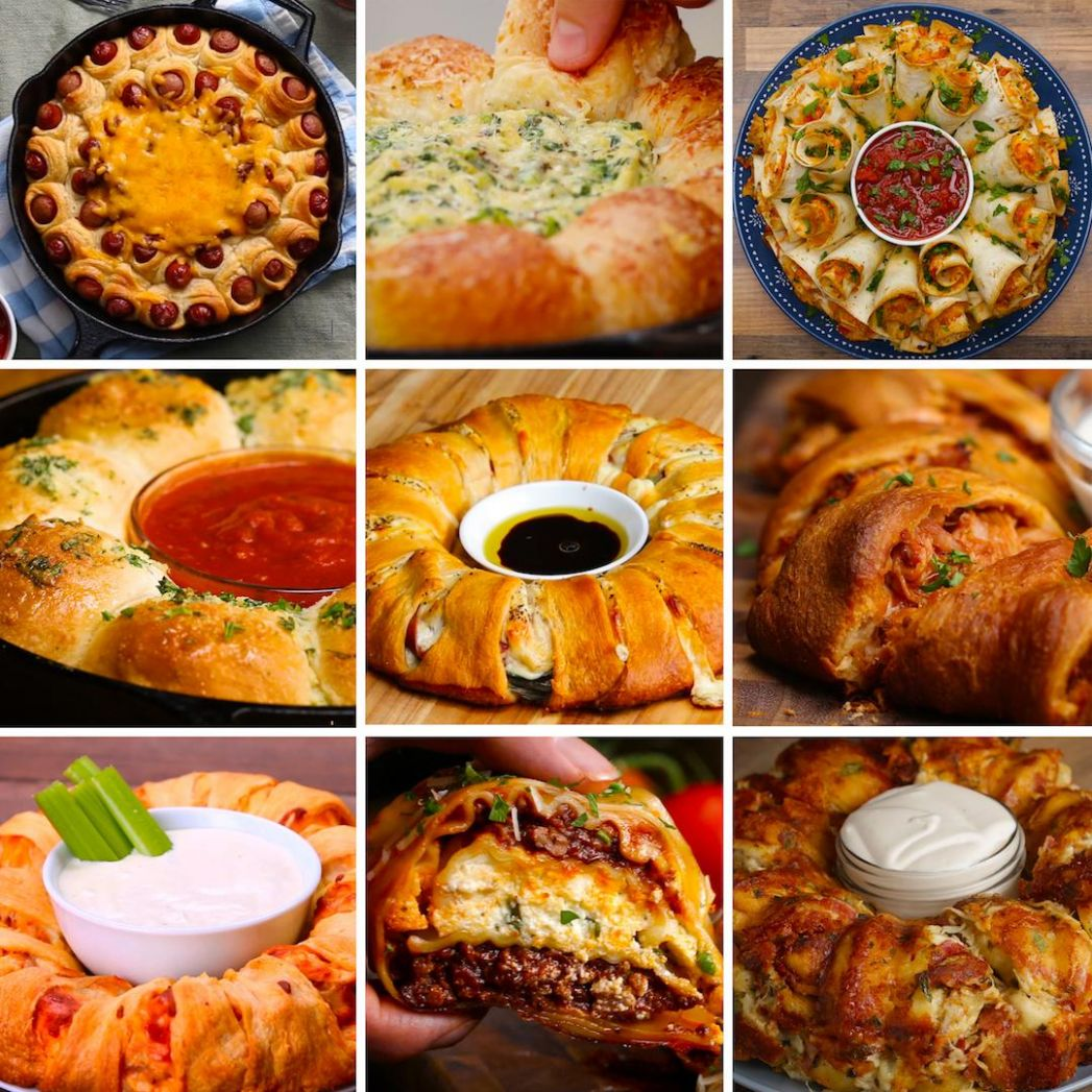 11 Mind-Blowing Party Food Rings | Recipes