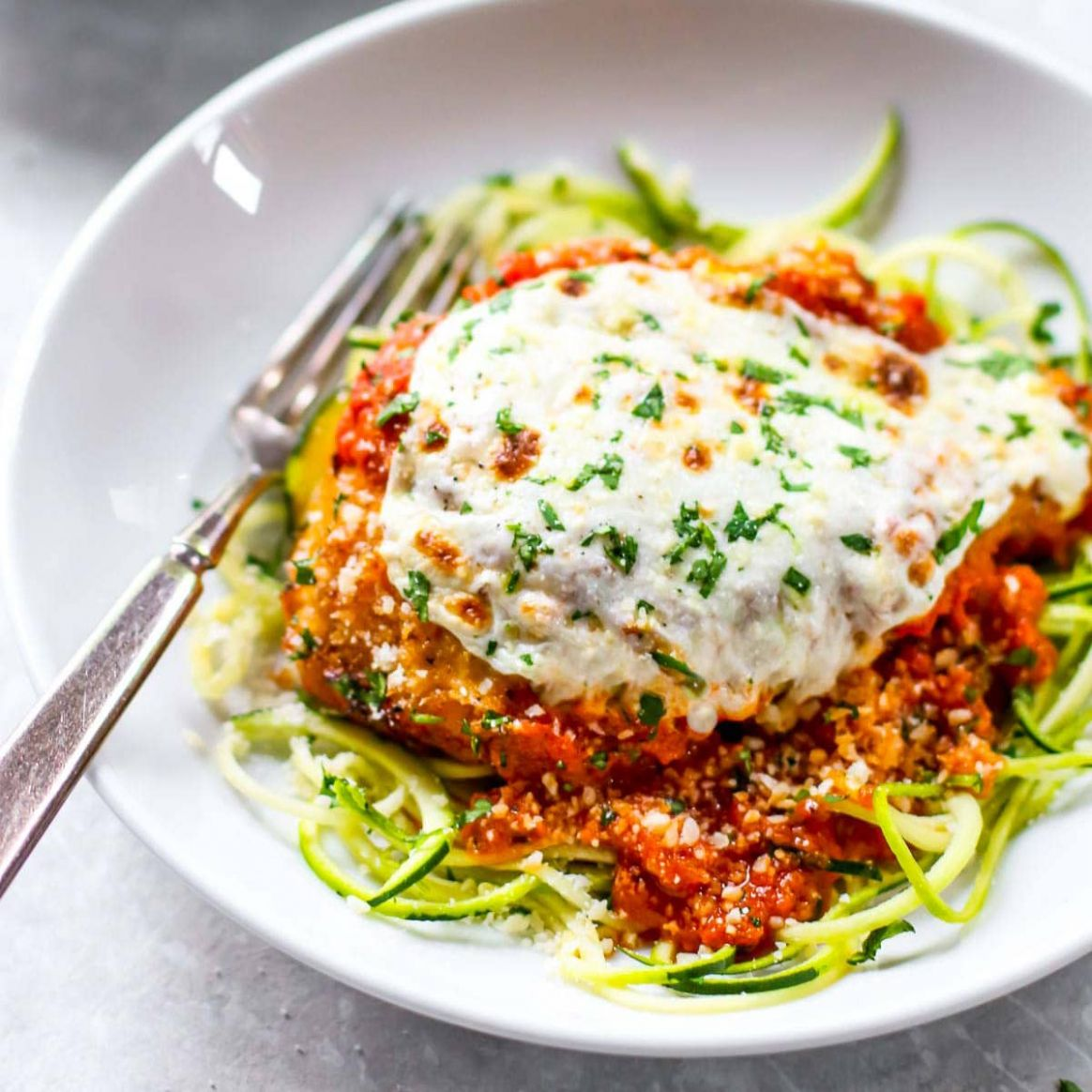 11 Minute Healthy Chicken Parmesan - Healthy Chicken Recipes