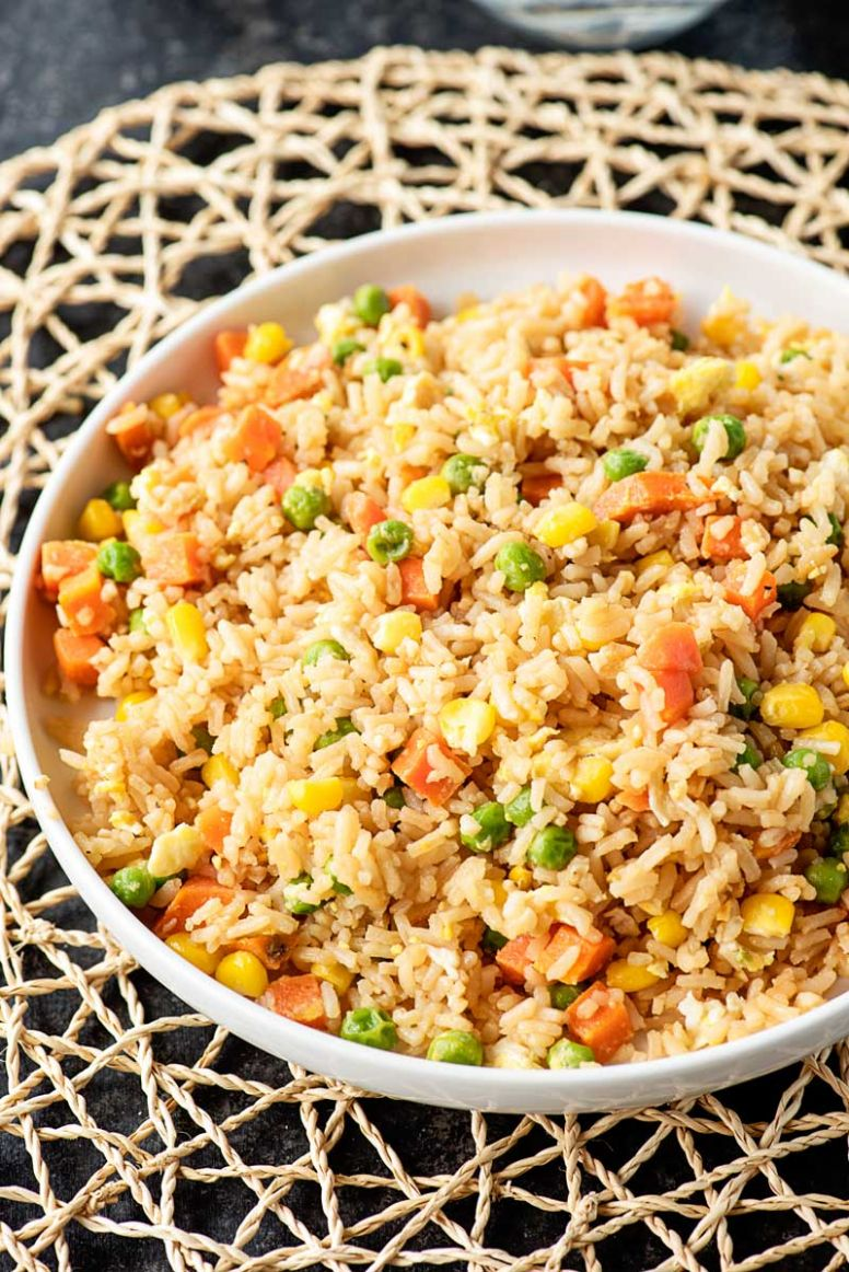 11 Minute Simple Egg Fried Rice