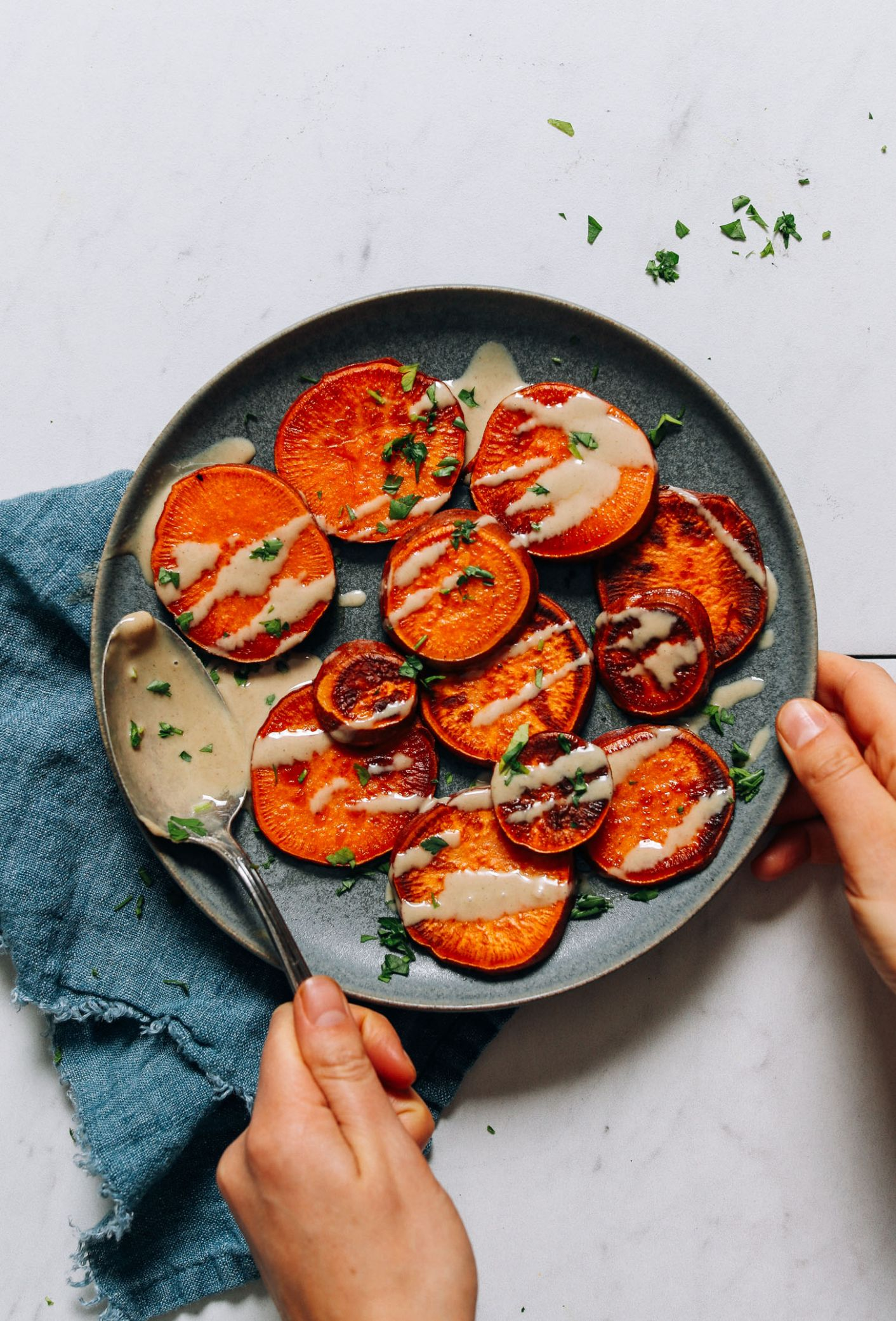 11-Minute Sweet Potatoes | Minimalist Baker Recipes - Potato Recipes On Stove
