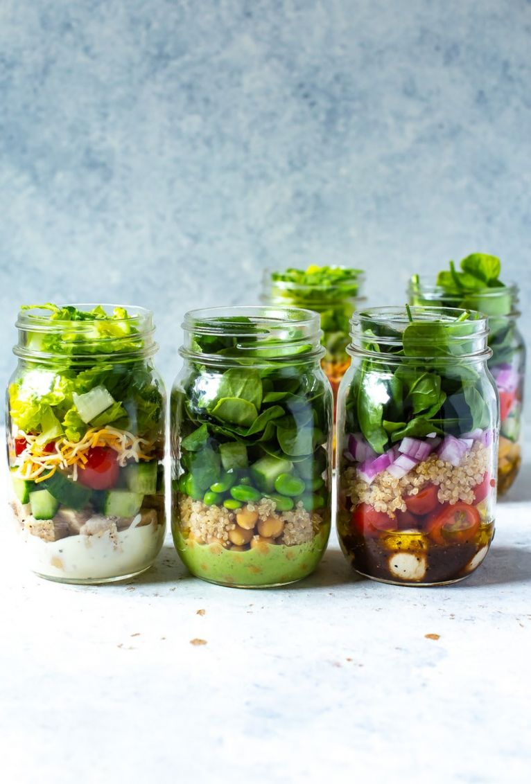 11 Mix and Match Mason Jar Salad Recipes - Recipes Salad In A Jar