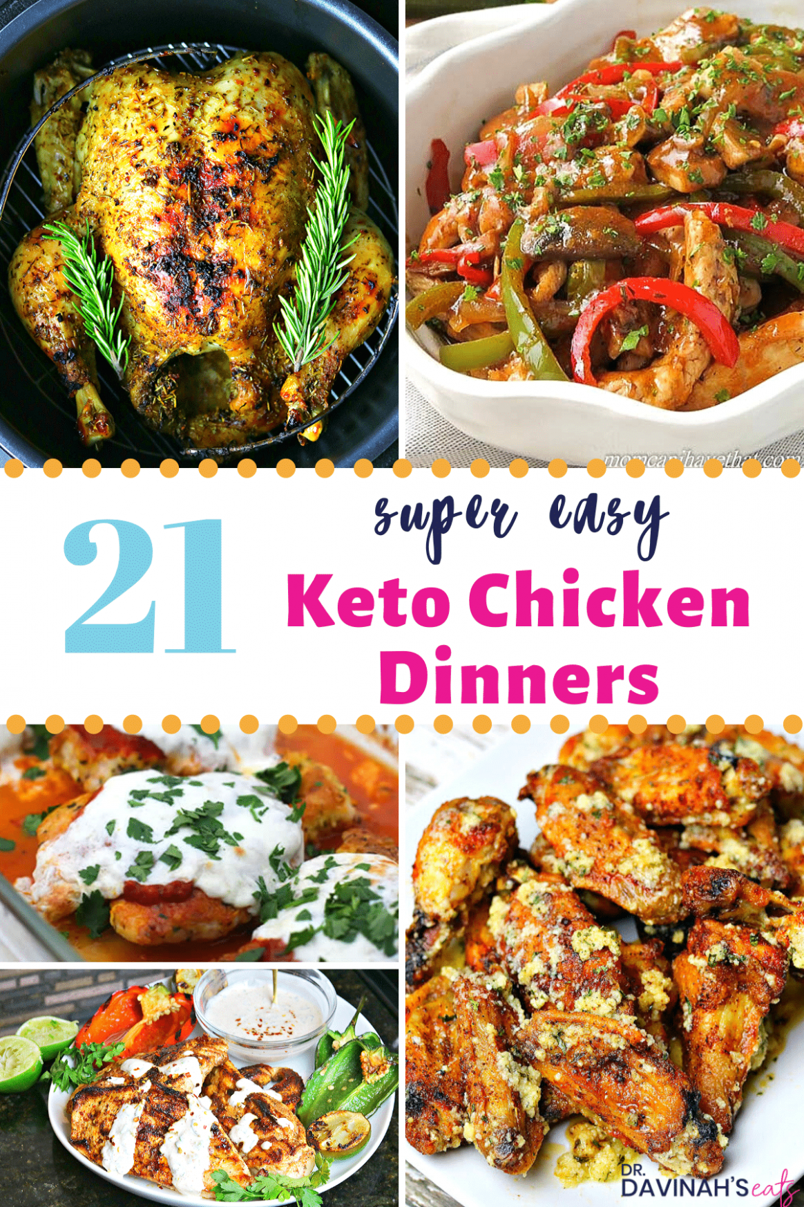 11 No Fuss Keto Chicken Dinners Recipes | Dr
