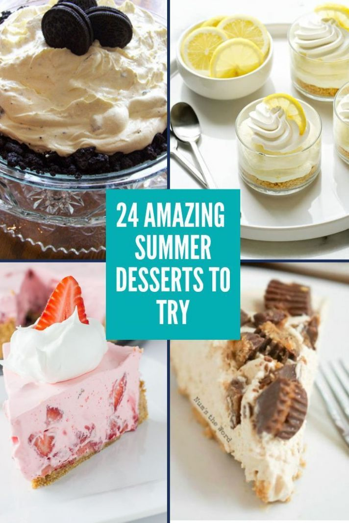 11 perfect for summer desserts | Dessert recipes, Summer dessert ...