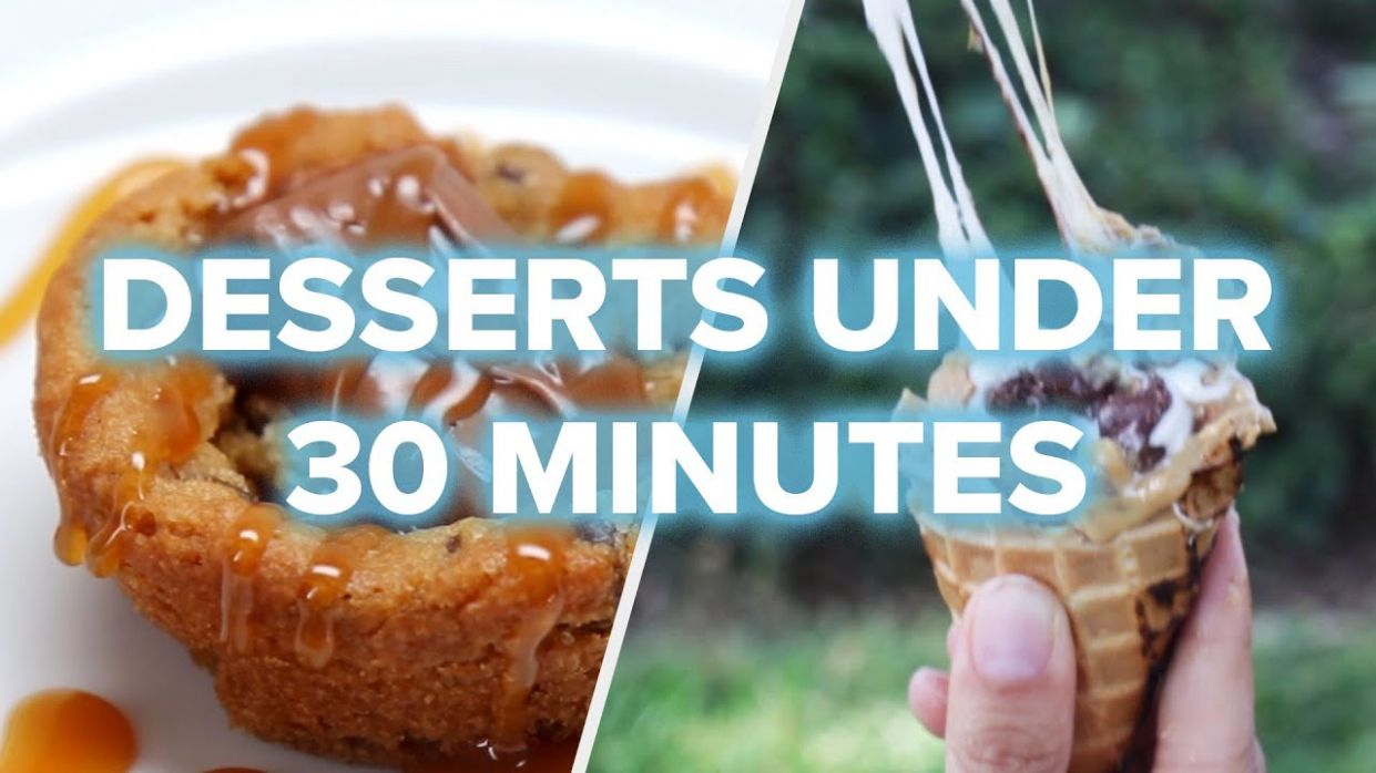11 Quick Desserts For Last-Minute Parties • Tasty