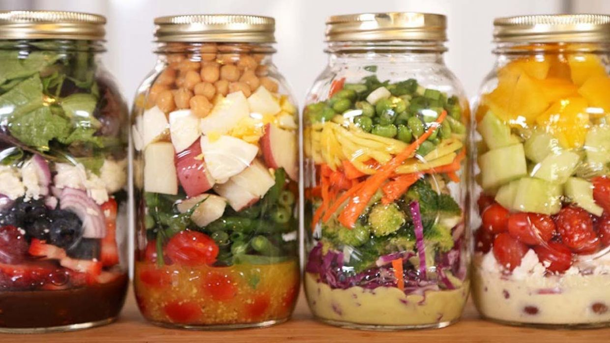 11 Salad-In-A-Jar Recipes - Recipes Salad In A Jar