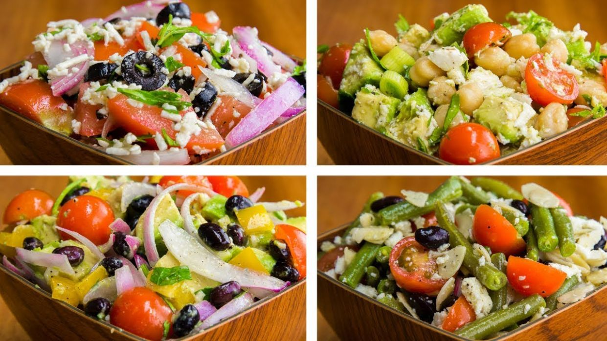 11 Salad Recipes For Weight Loss Vegetarian | Healthy Salad Recipes - Salad Recipes Lose Weight