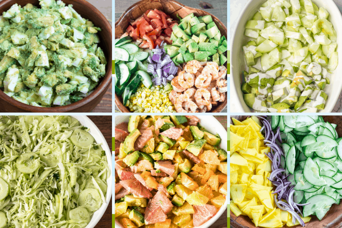 11 SALADS FOR WEIGHT LOSS | Precious Core - Salad Recipes Lose Weight