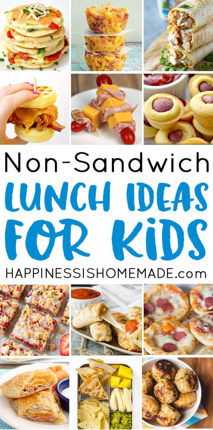 11 School Lunch Ideas for Kids - Happiness is Homemade - Sandwich Recipes School