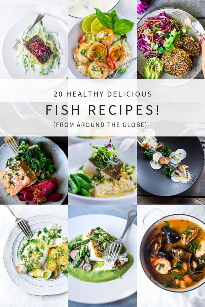 11 Simple Healthy Fish & Seafood Recipes | Feasting At Home - Recipes Fish Dinner