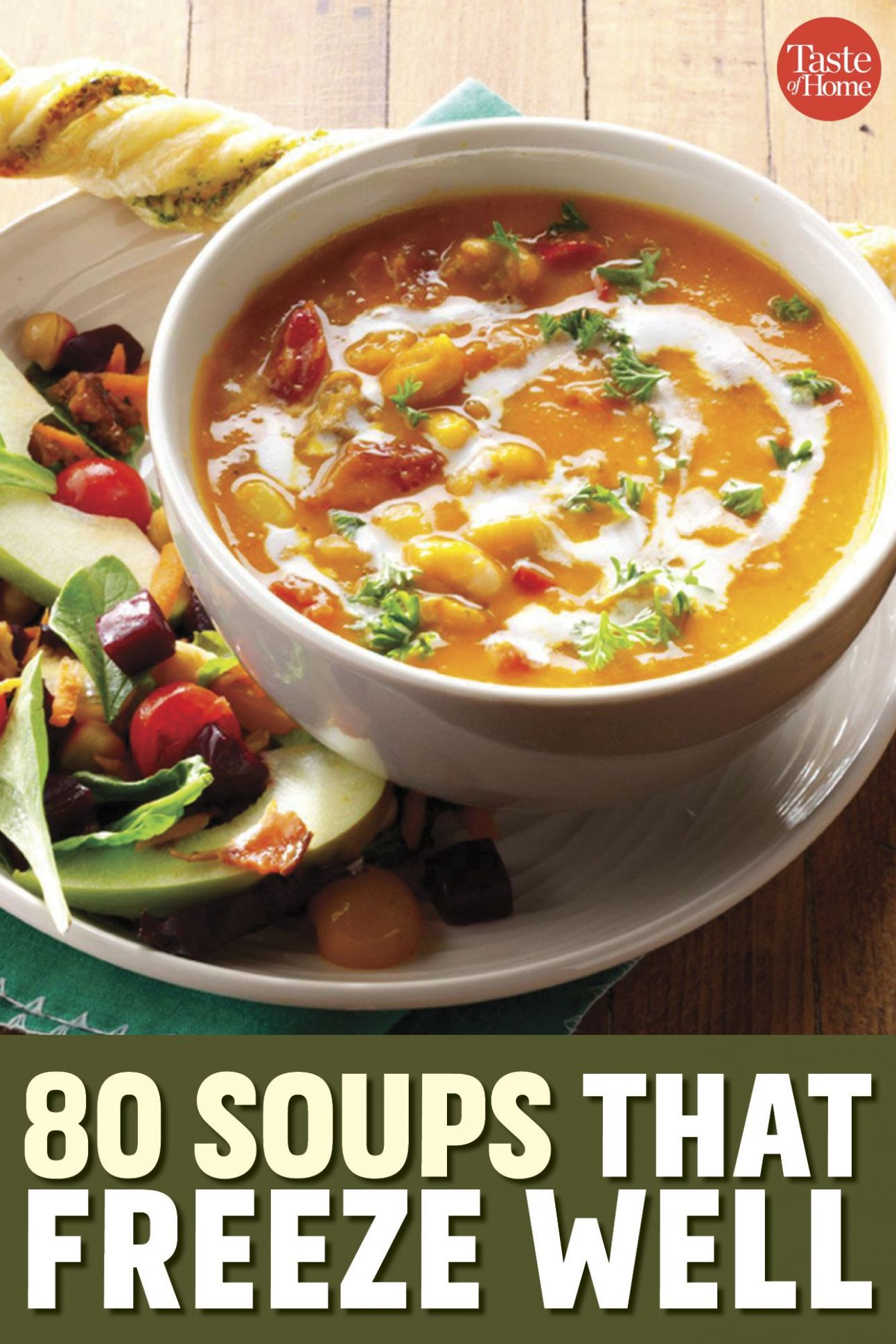 11 Soups to Store in the Freezer in 11 | Soup appetizers, Soup ...