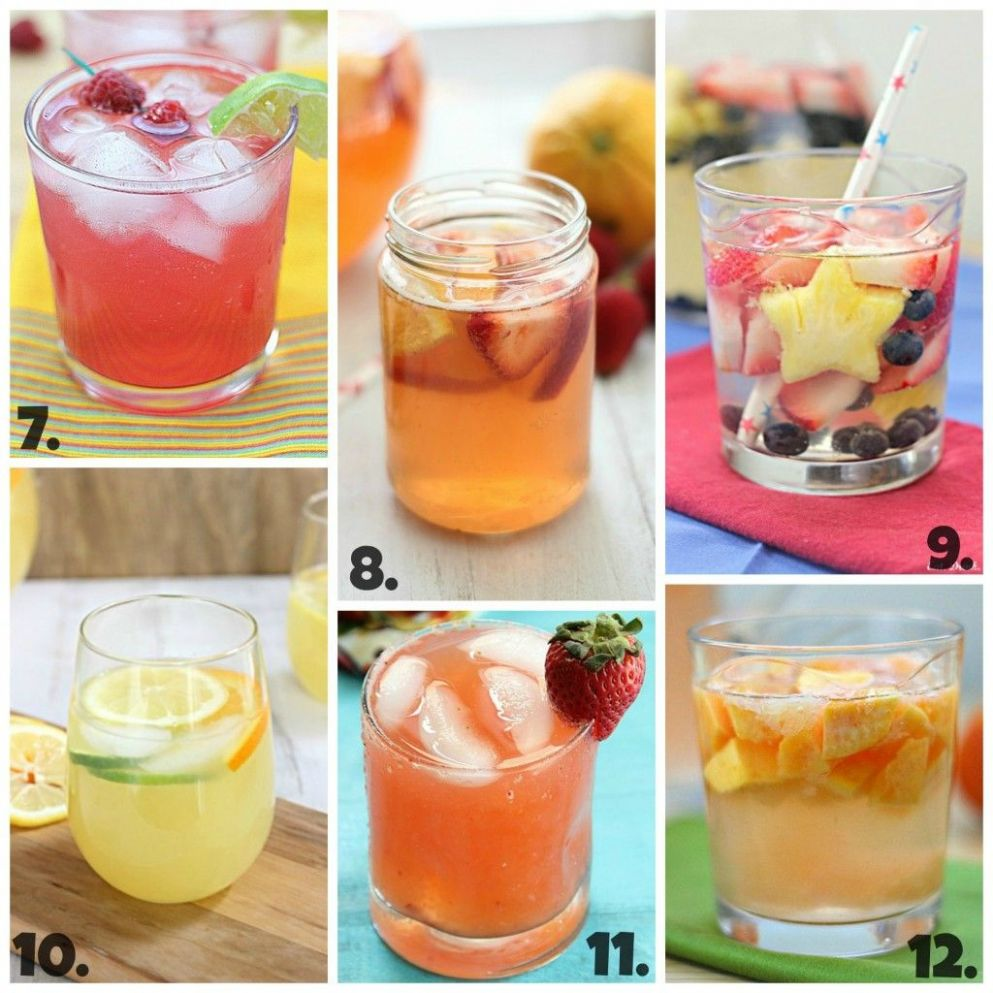 11 Summer Drink and Cocktail Recipes ~ Says: 11 are non-alcoholic ...