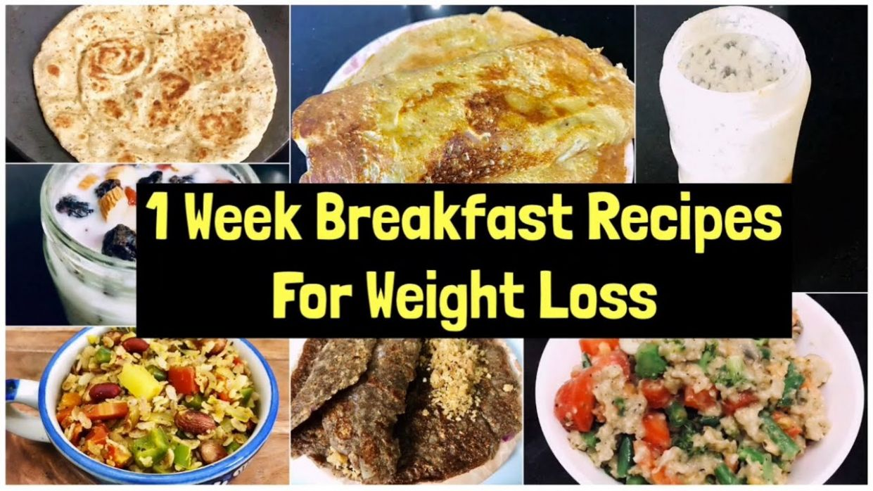 1111 Breakfast Recipes For Weight Loss | 11 Week quick & Easy Vegetarian  Breakfast Plan | Meal Plan - Breakfast Recipes For Weight Loss