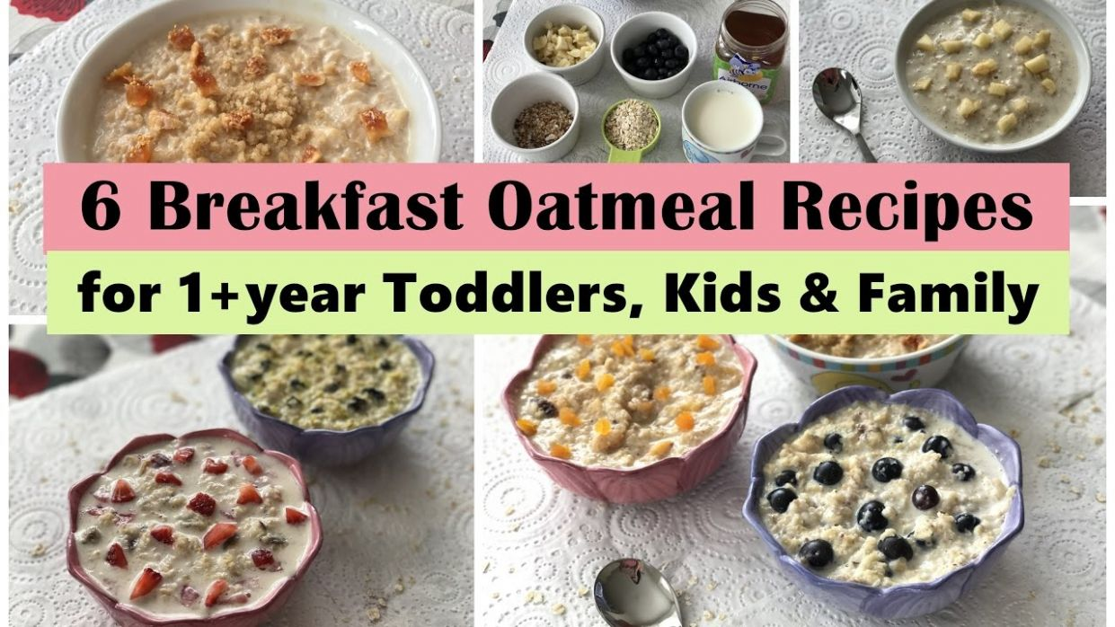 1111 Oatmeal Breakfast Recipes ( for 11+ year Toddler, Kids & Family ) | Easy  oatmeal recipes | - Recipes Cooking With Toddlers
