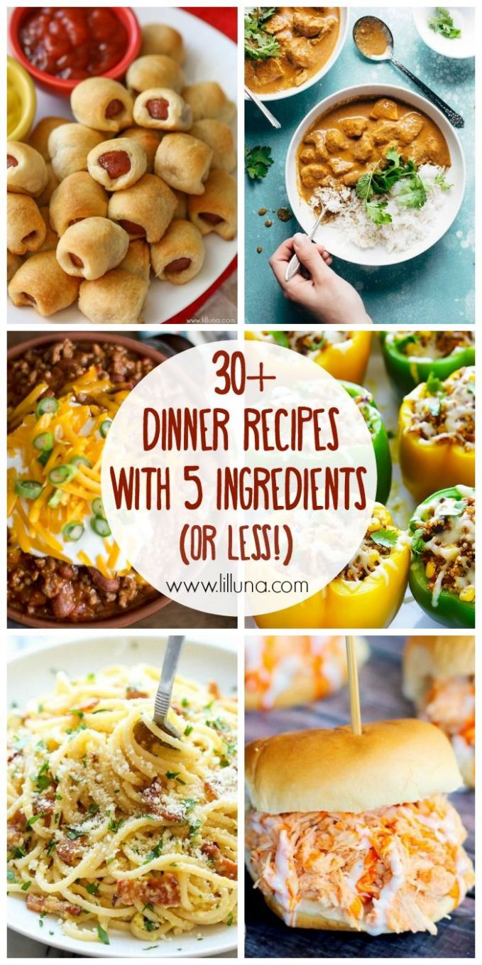 12+ 12 Ingredient (or less!) Dinner Recipes | Fast dinner recipes ..