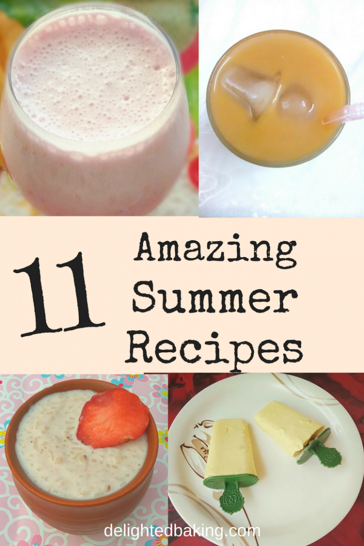 12 Amazing summer friendly recipes for this summer season. Easy ..