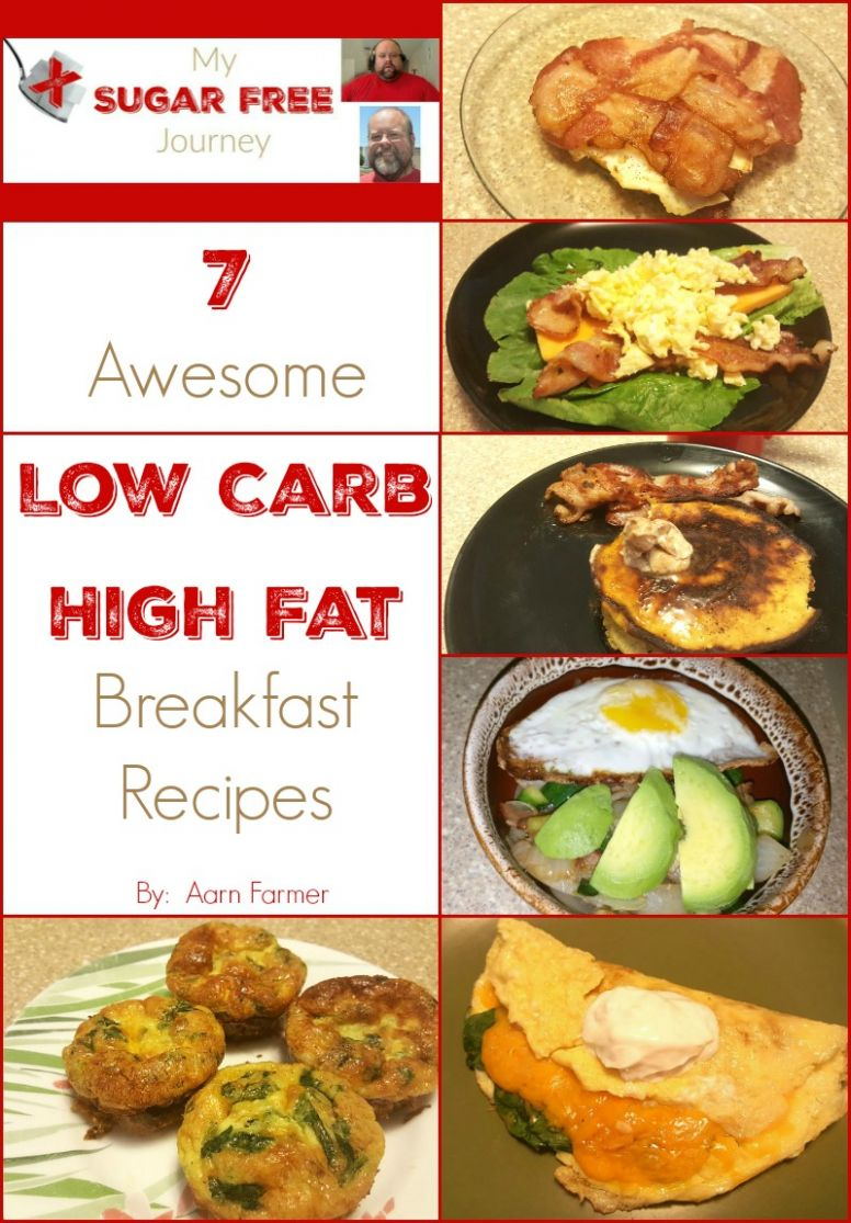 12 Awesome Low Carb, High Fat Breakfast Recipes!