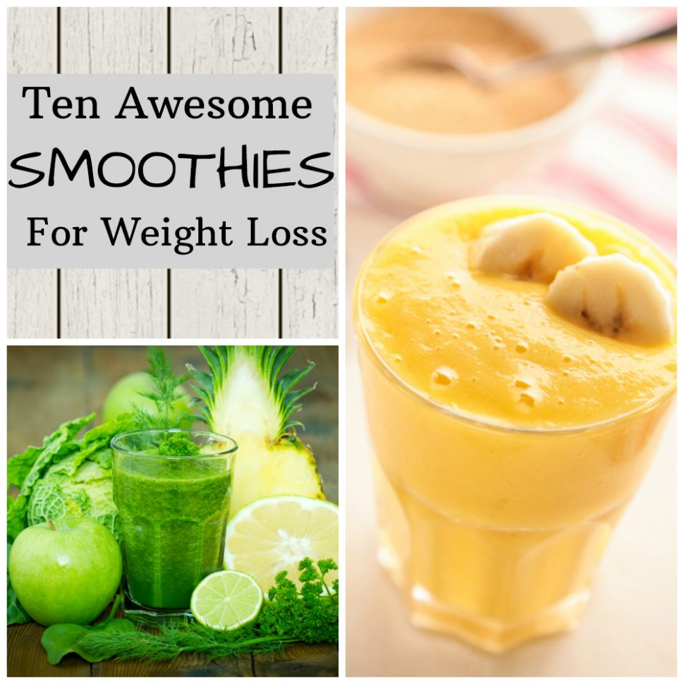 12 Awesome Smoothies for Weight Loss - All Nutribullet Recipes