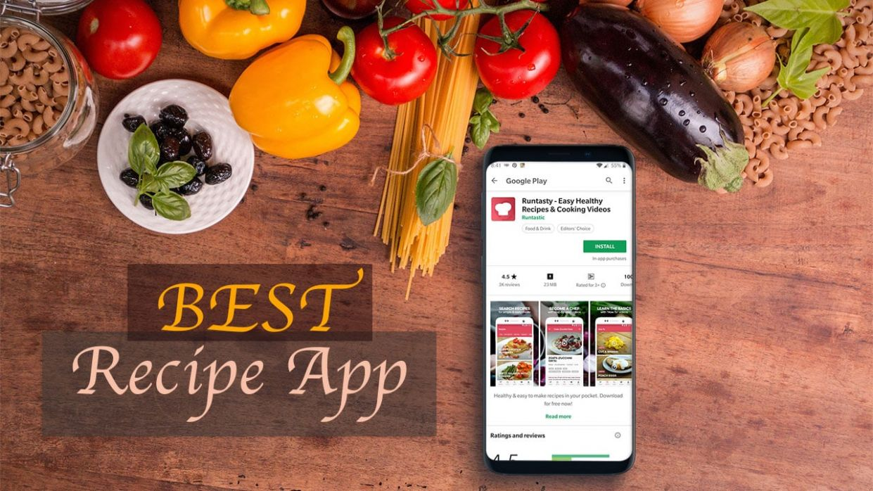 12 Best Free Recipe App/ Cooking apps for Android | GetANDROIDstuff - Easy Recipes App