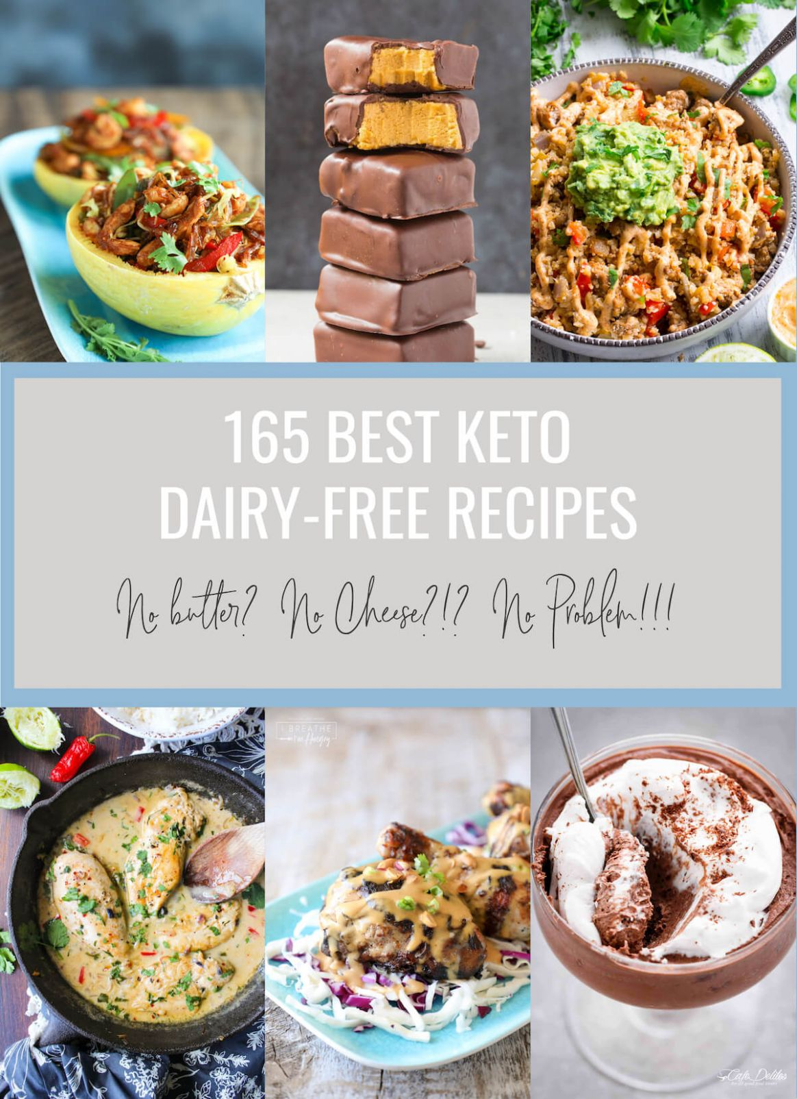 12 Best Keto Dairy Free Recipes - Low Carb | I Breathe I'm Hungry