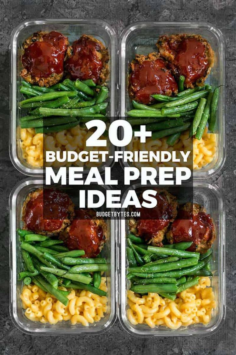 12+ Budget Friendly Meal Prep Ideas - Budget Bytes - Simple Recipes Meal Prep