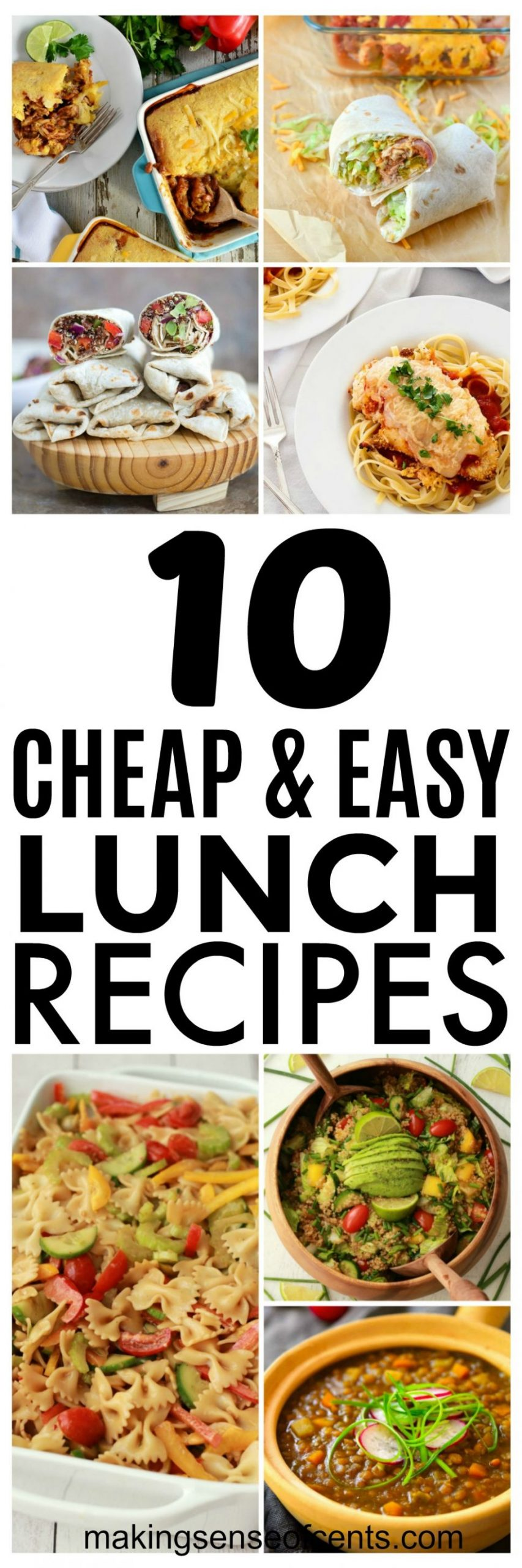12 Budget Lunch Ideas and Cheap Easy Meals You Should Try - Easy Recipes Cheap