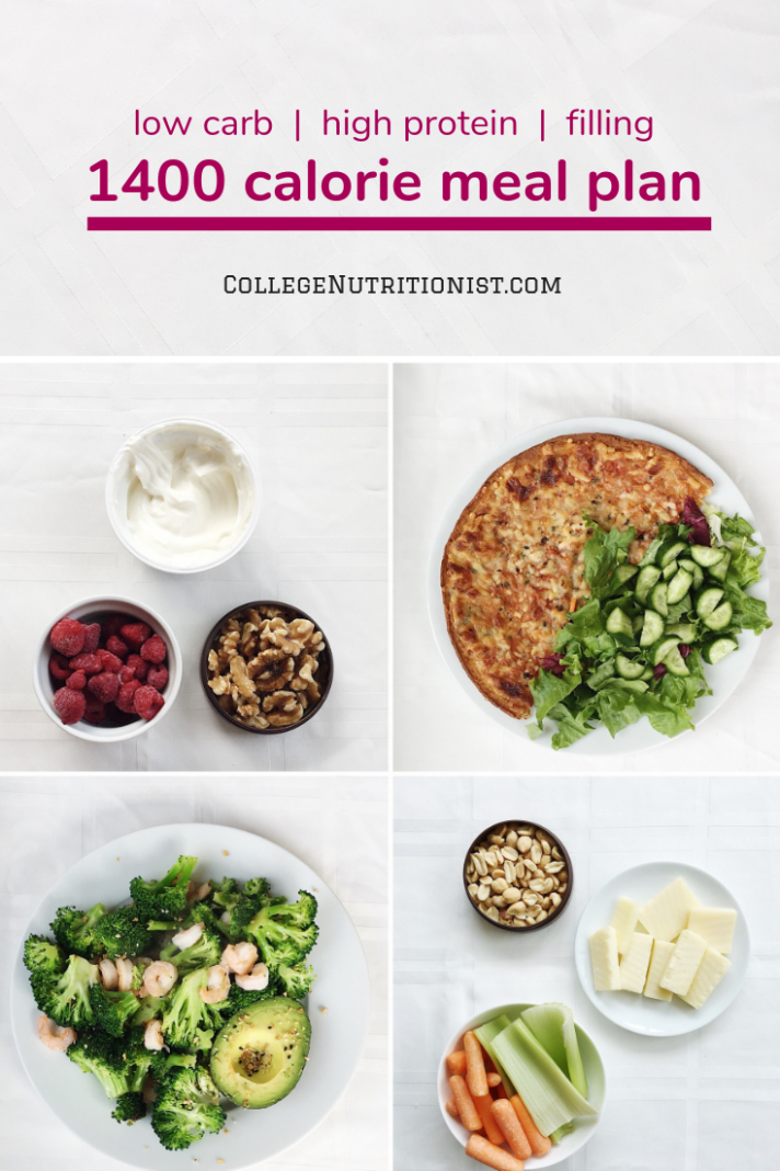 12 Calorie High Protein, Low Carb Meal Plan with Pizza | Low ...