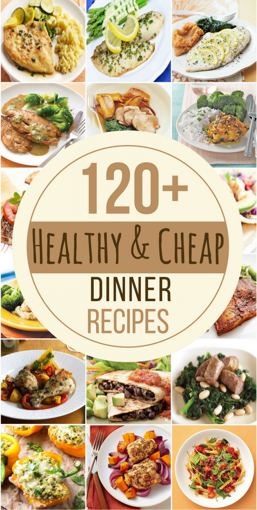 12 Cheap and Healthy Dinner Recipes | Cheap healthy dinners ..