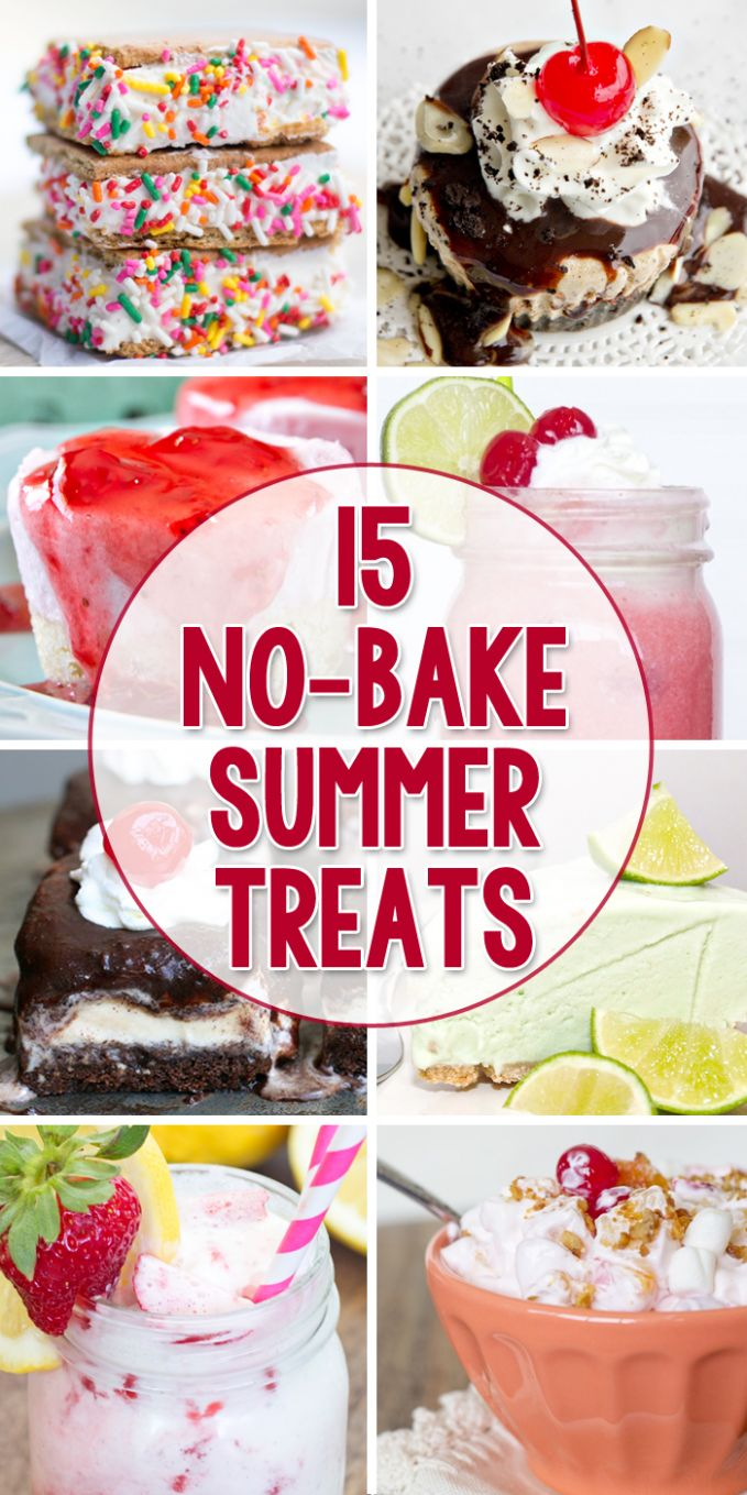12 Cool, No-Bake Summer Treats | YellowBlissRoad