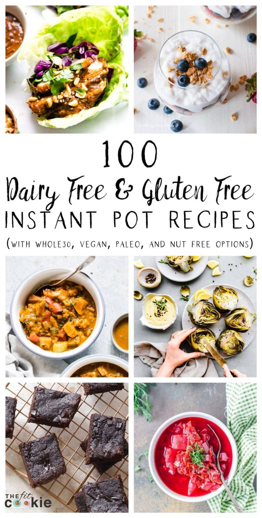 12 Dairy Free and Gluten Free Instant Pot Recipes • The Fit Cookie