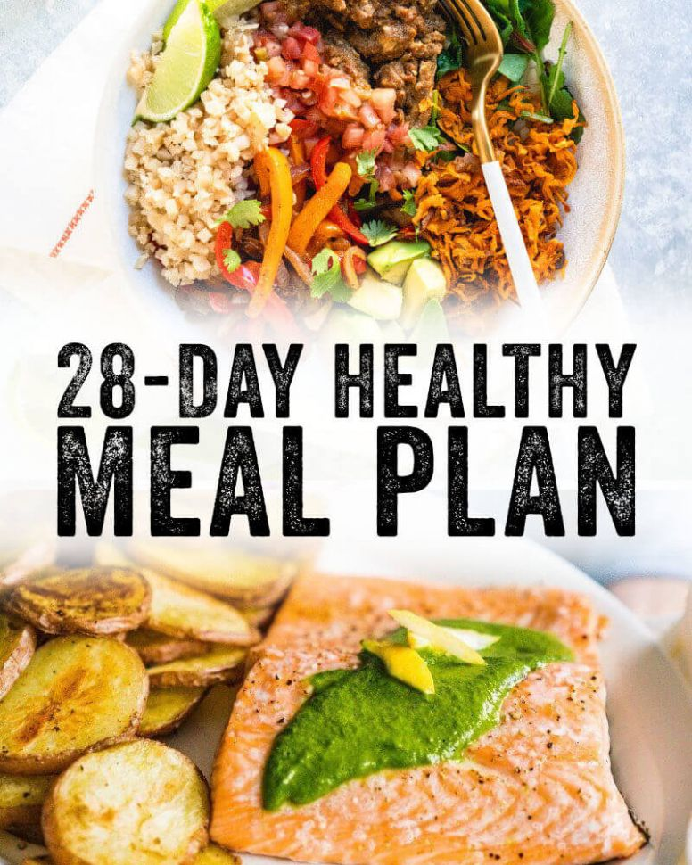 12 Day Healthy Meal Plan – A Couple Cooks