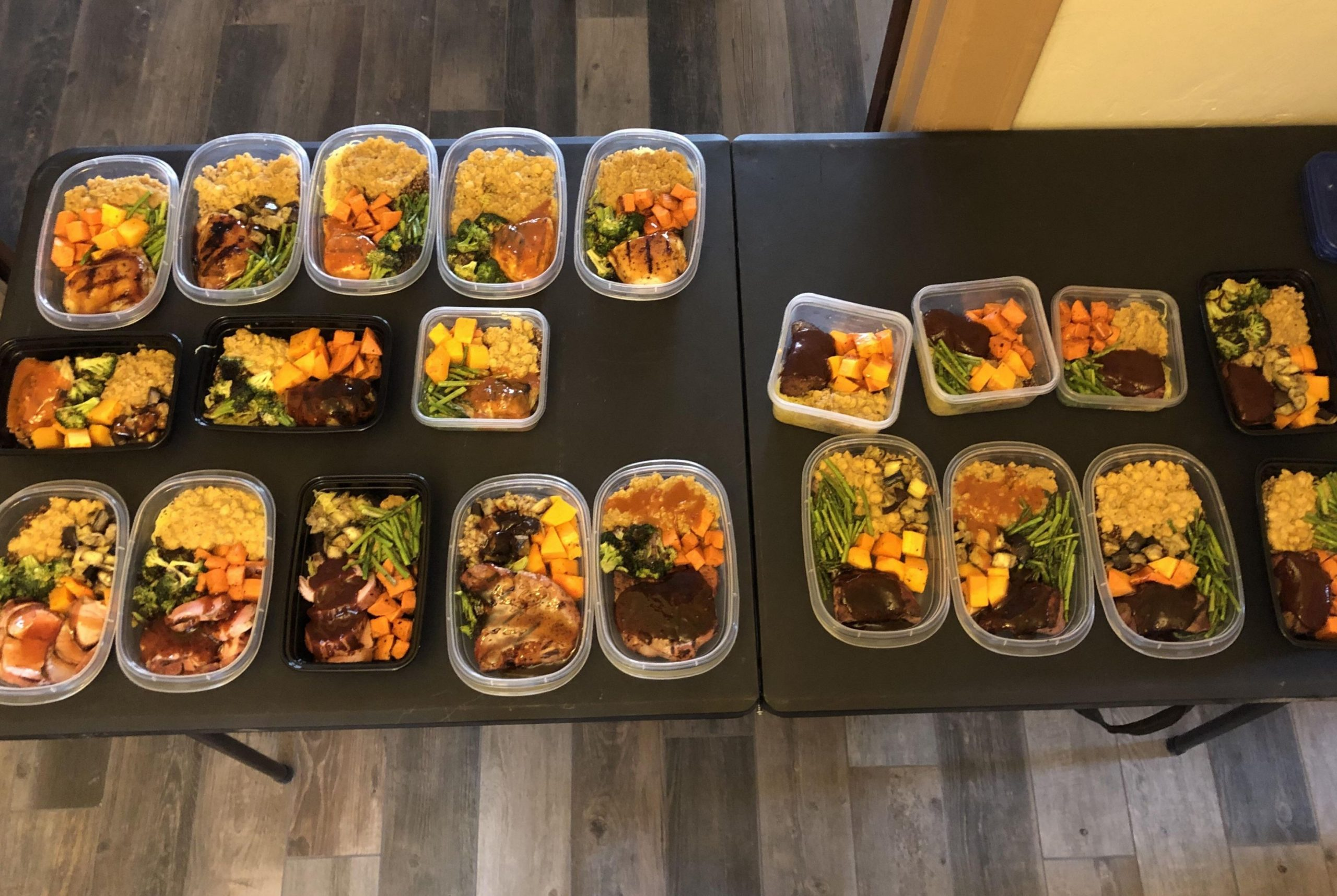 12 delicious, healthy meals for ~$12 each. Around 12 hours prep time ...