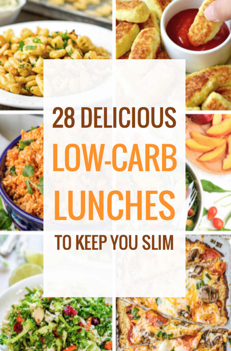 12 Delicious Low-Carb Lunches to Keep You Slim | Low carb recipes ...