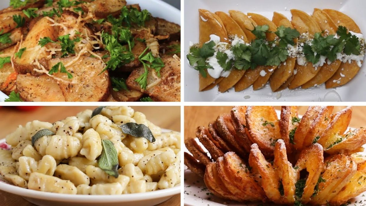 12 Delicious Potato Recipes • Tasty - Potato Recipes Video