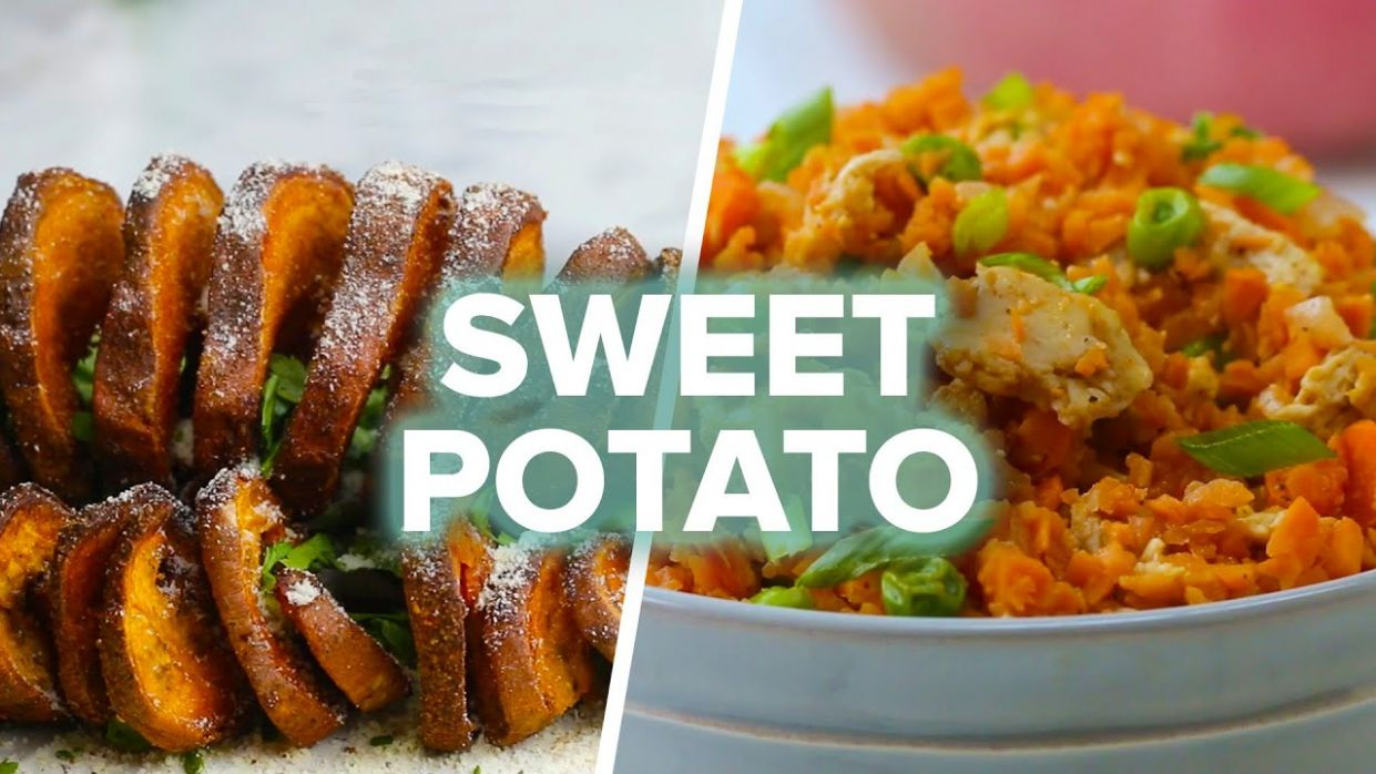 12 Delicious Sweet Potato Recipes - Potato Recipes Video