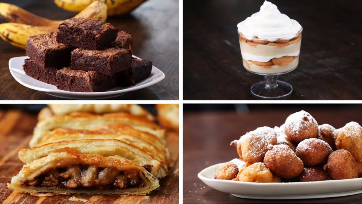 12 Desserts To Make With Ripe Bananas