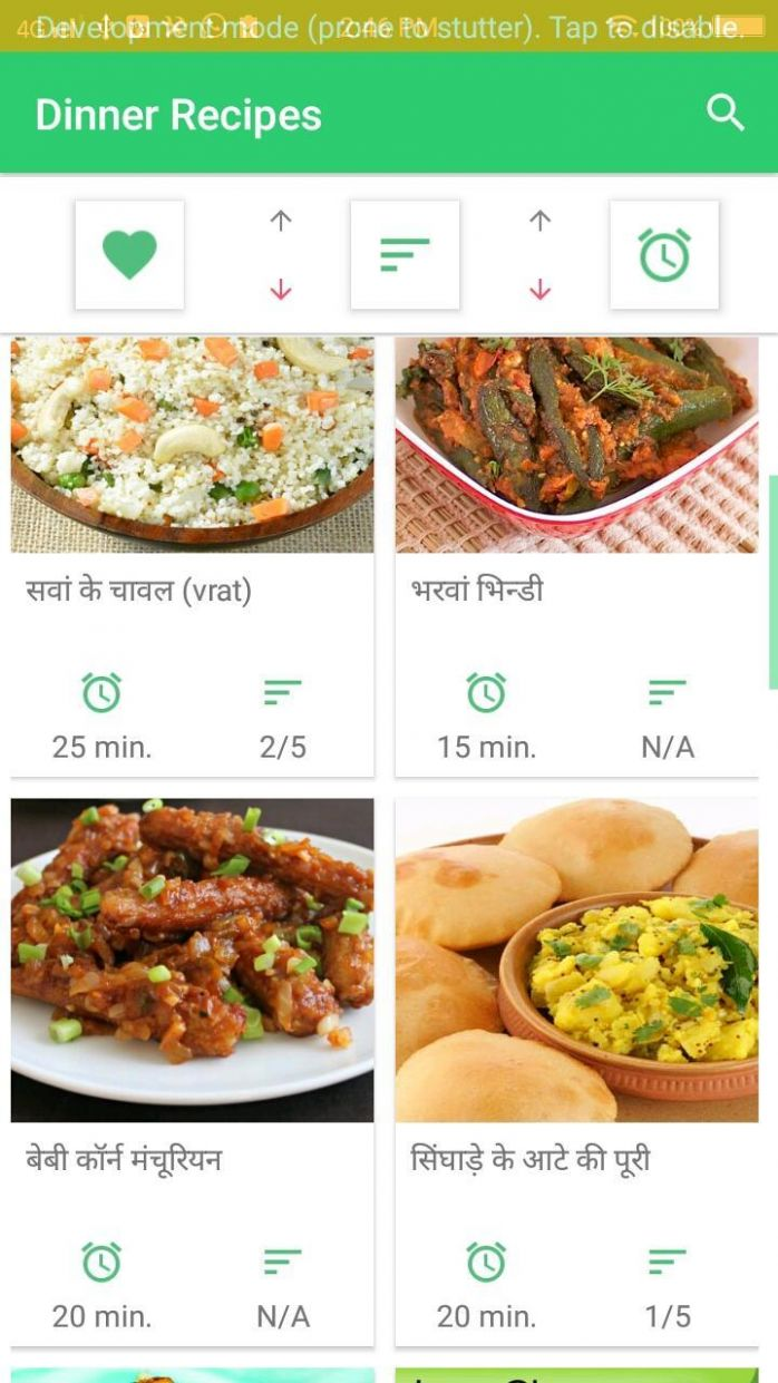 12+ Dinner Recipe Hindi for Android - APK Download