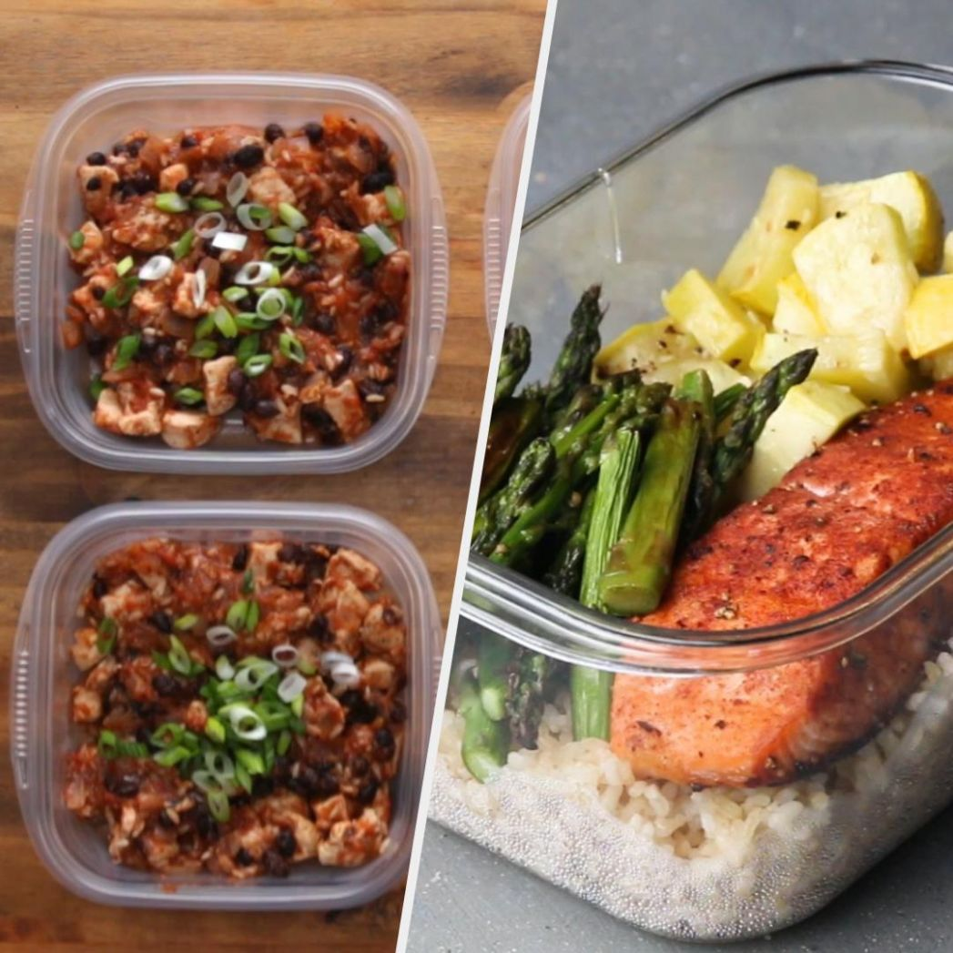 12 Easy & Healthy Meal Prep Recipes - Simple Recipes Meal Prep
