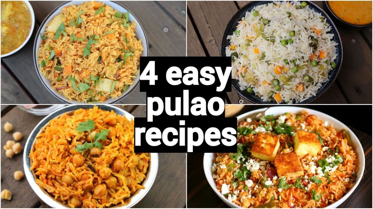 12 easy & quick lunch box pulao recipes | one pot tiffin box recipes | lunch  box rice recipes