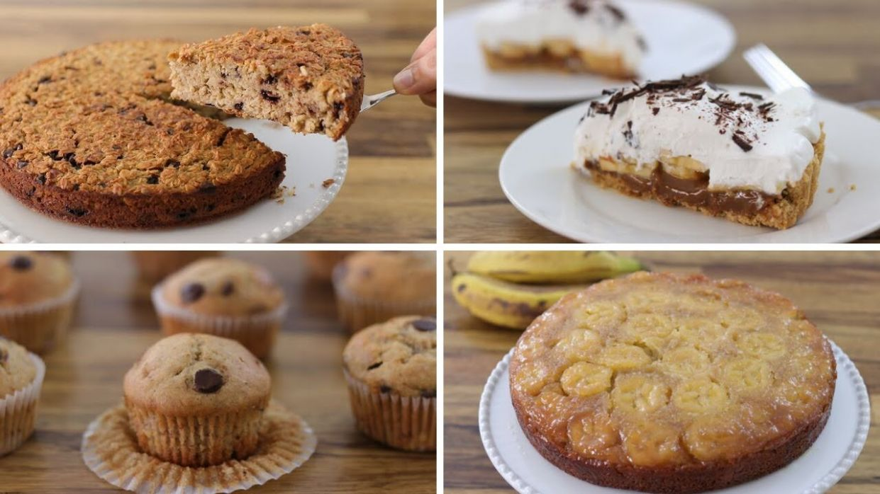 12 Easy Banana Dessert Recipes - Dessert Recipes That Serve 4