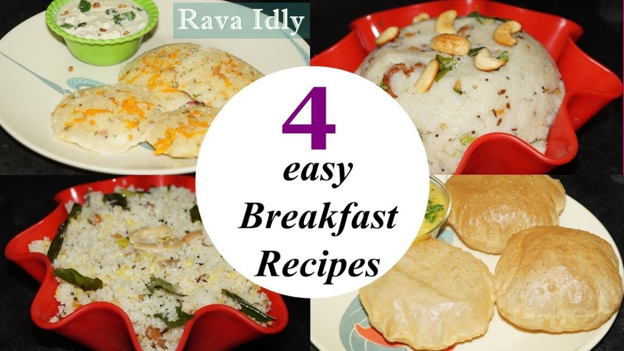 12 easy Break fast recipes in telugu by Amma Kitchen- Latest Indian Recipes