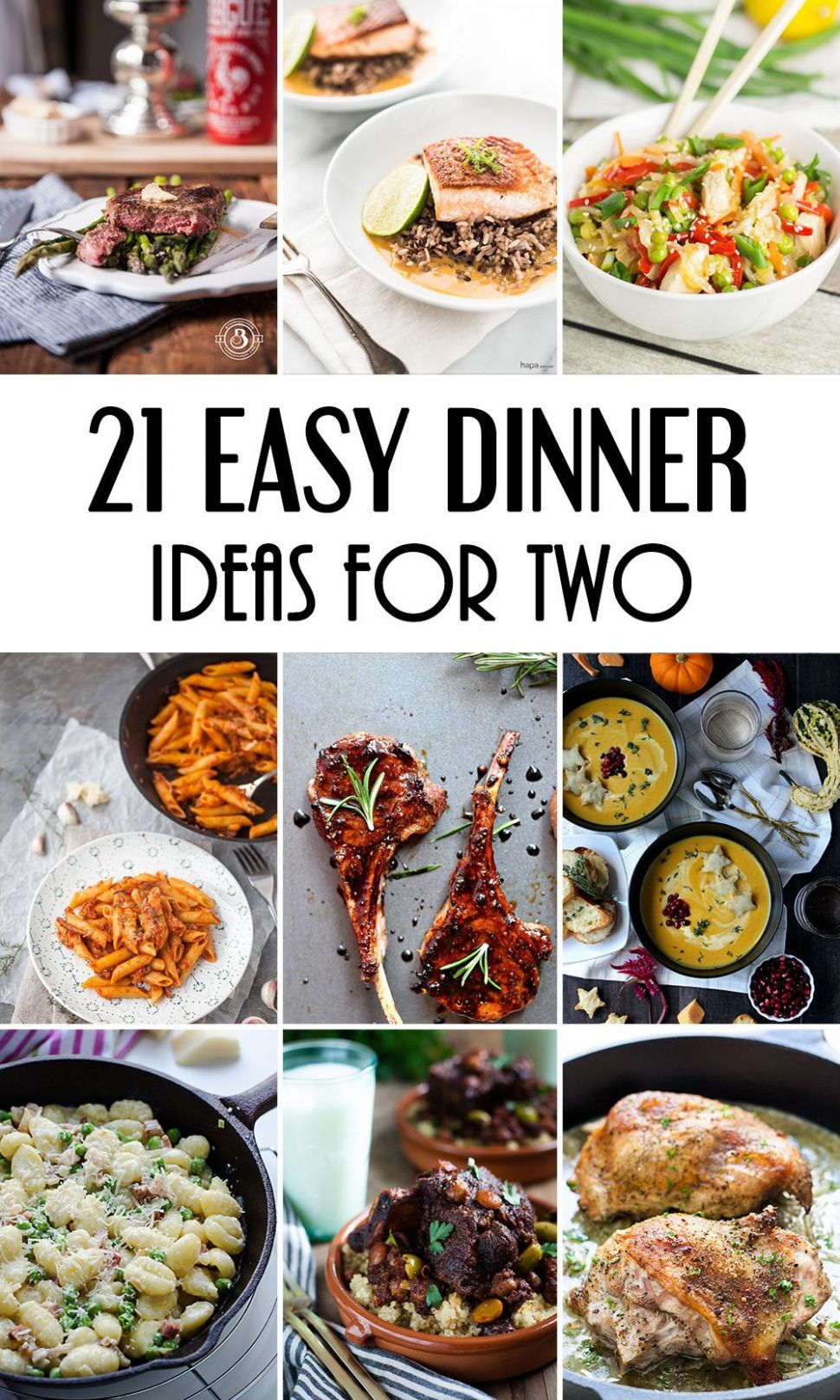 12 Easy Dinner Ideas For Two That Will Impress Your Loved One ..