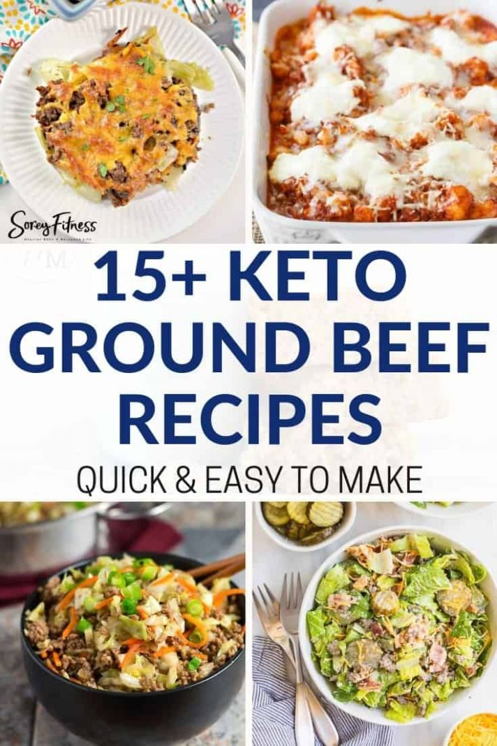 12+ Easy Keto Ground Beef Recipes: Pinterest-Worthy Low Carb Recipes