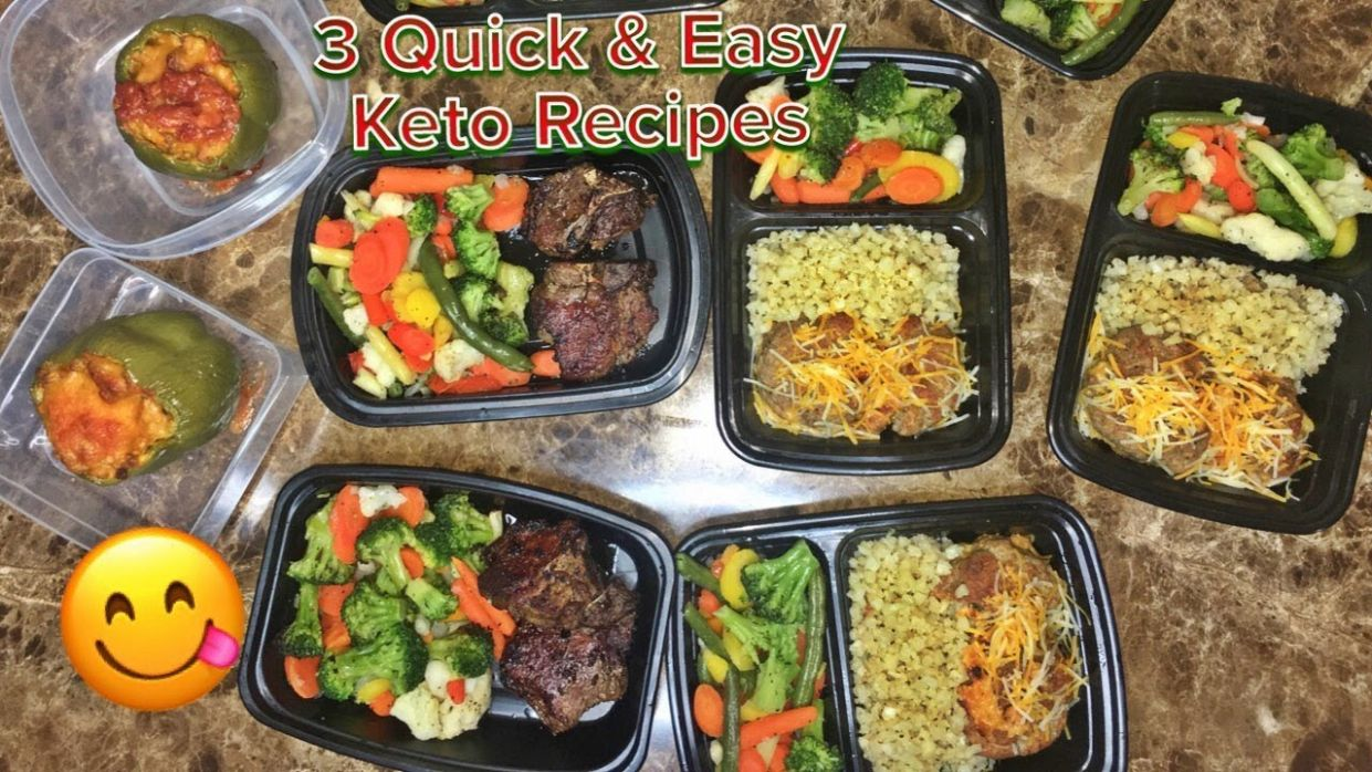 12 Easy Keto Meals (Beginner Friendly Meal Prep)