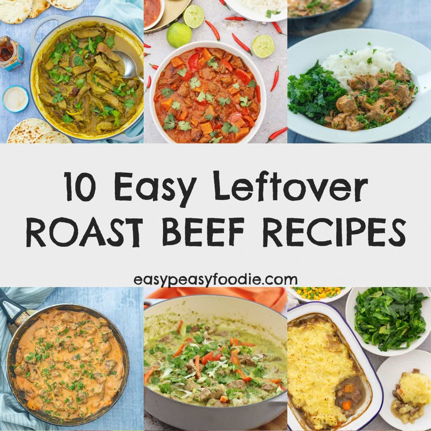 12 Easy Leftover Roast Beef Recipes - Easy Peasy Foodie