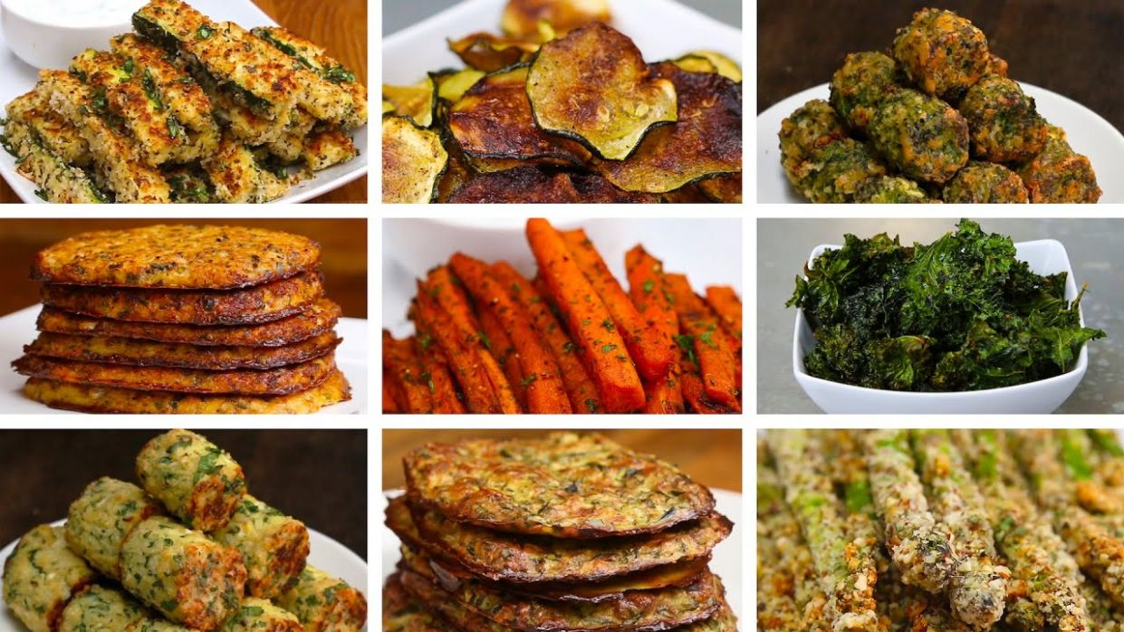12 Easy Low-Carb Veggie Snacks