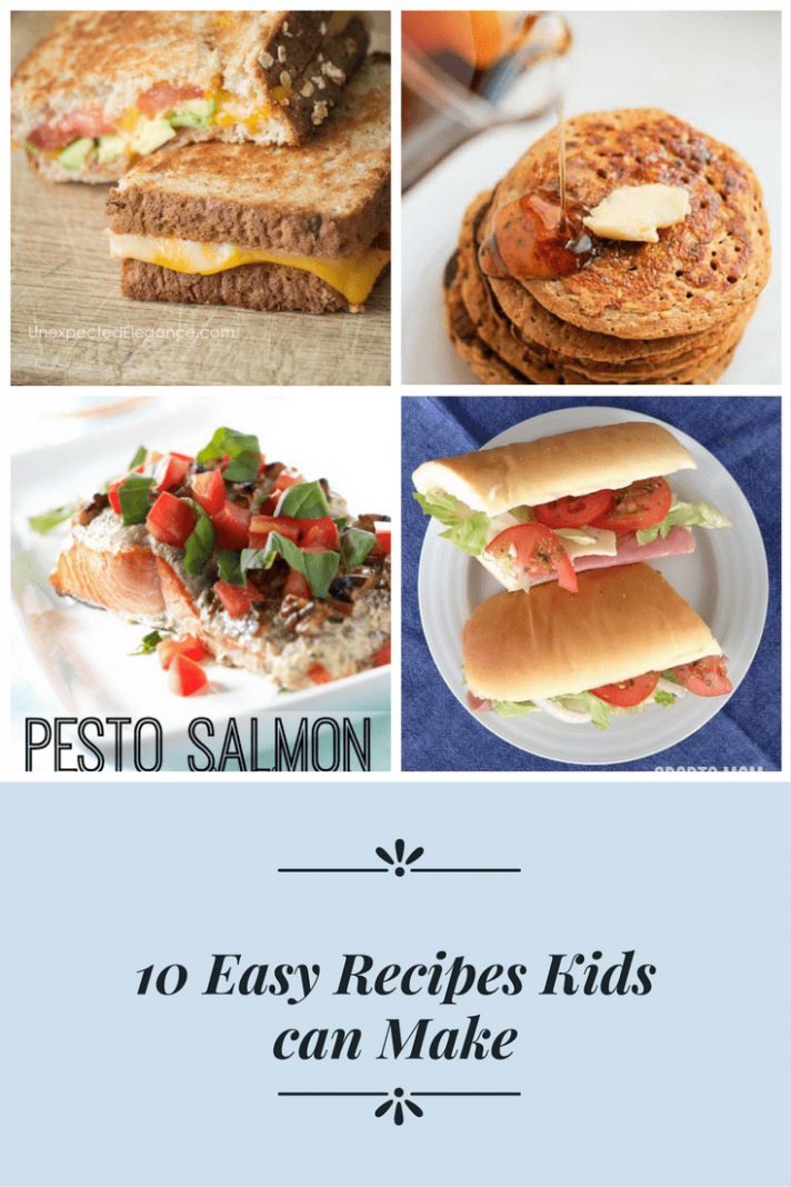 12 Easy Recipes a Kid Can Make