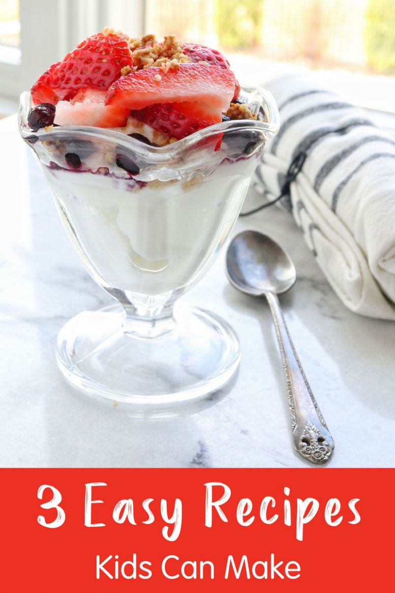 12 Easy Recipes Kids Can Make Themselves, Kid Chef Recipes ...