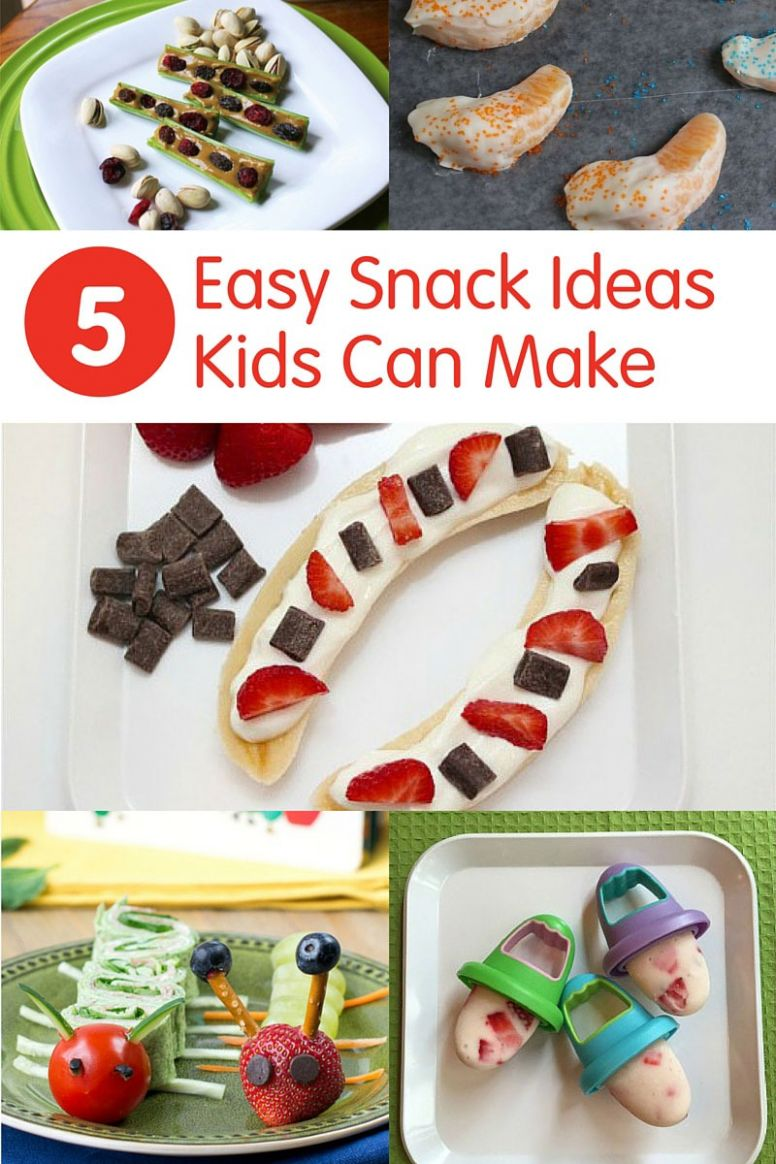 12 Easy Snack Recipes Kids Can Make | Produce for Kids