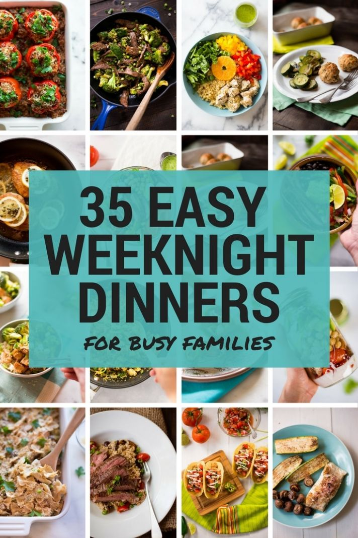 12 Easy Weeknight Dinners for Busy Families • A Sweet Pea Chef
